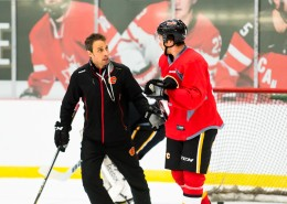 Heat Assistant Coach Dominic Pittis helped run the Development Camp (PHOTO BY ROB MCMORRIS)