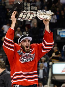 Former Second Rounder, Hunter Smith captured the Memorial Cup with the Oshawa Generals in 2014-15.