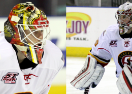 Joni Ortio makes his way back to Calgary while Kent Simpson heads to Stockton (PHOTOS BY ASVITT PHOTOGRAPHY).