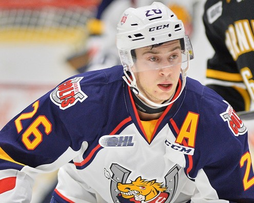 In his third season with the Barrie Colts of the OHL Mangiapane served as an alternate captain, adding leadership qualities to his elite scoring ability.