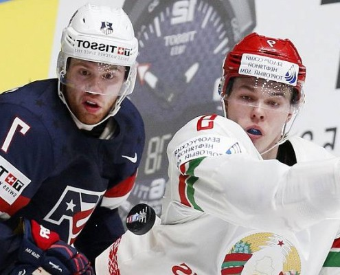 Dyukov suited up for Belarus in the World Championships in 2015-16 and without a doubt increased his stock overseas with an impressive performance from a 20-year-old defenseman.