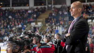 Ryan Huska began his coaching career in Kelowna where he coached as an assistant for five seasons before becoming the head man for the next seven seasons.
