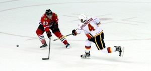 Kylington's wrist shot in the first period was the fourth the team had scored and chased established AHL goaltender Michael Leighton from the net.