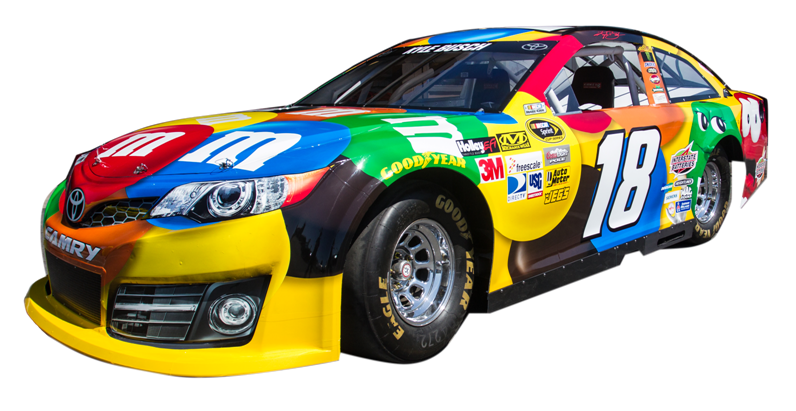 Race for autism - Pictures of kyle busch s car ...