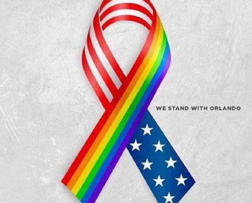 We stand together as Americans and human beings with the victims, victims families and friends, and the survivors in Orlando. Keep them in your thoughts