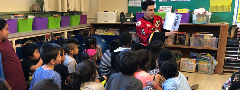 StocktonHeat.com | Heat are in the Game, Reading to Local Children!