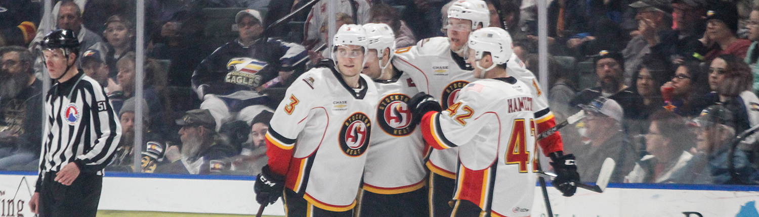 Stocktonheat Com The Official Website Of The Stockton Heat Of The Ahl